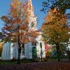 """New England Church in Autumn"", photography by Anita Winstanley Roark.  Contact us for edition and size availability."